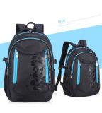 Double sac imperméable à l'eau de sac à dos d'école de pupilles d'épaule pour l'élève d'école
