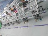 2017 nuevas 6 pistas camiseta y las agujas de la máquina 12 del bordado del casquillo automatizaron precios de la máquina del bordado
