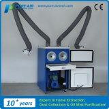 Coletor de poeira portátil da soldadura do fornecedor de China com os dois braços de fumo (MP-3600DA)
