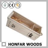 絶妙な1つのびんの木のワインボックス木のギフト用の箱