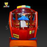 V.S máquinas de juego feliz de arcada de los zombis y de los animales del omnibus