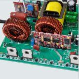 2kVA 12V/24V/48V gelijkstroom aan de Zuivere Omschakelaar van de Macht van de Golf van de Sinus AC/110V/120V/220V/230V/240V