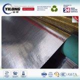 Silber lamelliertes gesponnenes Folien-Doppeltes versah Aluminiumisolierung mit Seiten