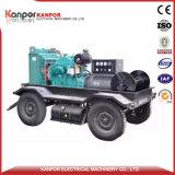 Tipo mobile del rimorchio delle due delle rotelle rotelle del generatore quattro
