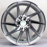 Rueda de aluminio de la aleación del coche de 16 pulgadas para todas las clases de marca de fábrica del coche