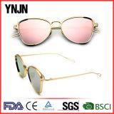 Óculos de sol extravagantes coloridos do frame da liga de Ynjn