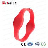 Ntag213 Wristband del silicone RFID NFC