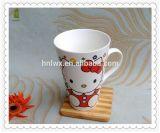 Nueva taza de cerámica al por mayor de China de hueso de 11oz hola Kittty