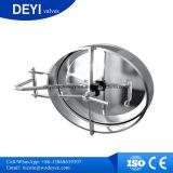 3.0 O Oval Manway interno do acesso do tanque da barra com resíduo metálico lustrou