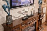 ヨーロッパLEDを切り分けるTVの立場はつける熱するFirepalce (320SS)を
