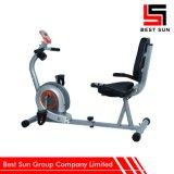 Aptitud cardiia reclinada inmóvil de entrenamiento de la bici de ejercicio