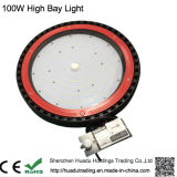 Al aire libre IP65 Ce & RoHS 100W bombilla 130lm / W UFO LED de alta luz de la luz de la bahía
