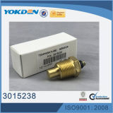 Sensor de temperatura da água da peça de motor 3015238 Diesel
