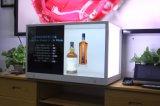 Pantalla transparente interactiva LCD de la venta caliente de 32 pulgadas que hace publicidad de los rectángulos de lujo de la visualización para la joyería