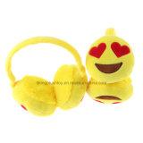 Heißer Verkaufs-Lachen-Schrei Emoji Ohrenschützer-Plüsch-warmer Ohrenschützer