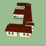 調節およびオフィスの使用のためのプレハブの家