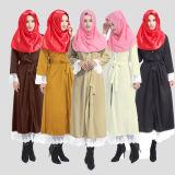 Turkse Moslim Islamitische Kleding Hijab, de Lange Laag Abaya van het Jasje (A291)