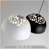 Hierro Negro pendiente de la luz pequeñas luces pendientes Loft para la cocina / bar / cafetería / restaurante