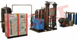 Oxigênio do patim produzindo a máquina