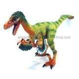 Dinosaur en plastique de constructeur initial pour la décoration et pour des gosses