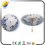 Kundenspezifischer Firmenzeichen-Öl-Papier-Regenschirm mit förderndem Geschenk
