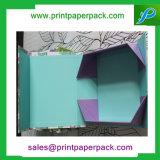 Kundenspezifischer faltender Papppapiergeschenk-verpackenluxuxkasten mit Firmenzeichen-Druck-Schmucksache-Kasten