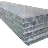 Panneaux en aluminium incurvés de nid d'abeilles pour les matériaux de décoration (HR468)