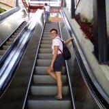 Hochleistungsflughafen-Metro-Öffentlichkeits-Rolltreppe
