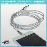 USB de carga rápido al cable 2.0A del relámpago para el iPhone 5/6/7