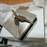 Frameless 유리 미닫이 문 자물쇠 패치 이음쇠