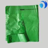 プラスチックによってカスタマイズされる緑のTシャツ袋