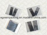 Индивидуальная ткань чистки Microfiber Eyewear черноты упаковки с выбитым логосом