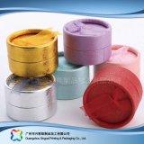 Caja de embalaje de empaquetado de papel de lujo del anillo de la joyería del regalo del tubo (xc-ptp-020)