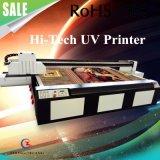 문 인쇄를 위한 환경 친절한 UV 평상형 트레일러 인쇄 기계