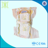 Pañal barato suave disponible del bebé de la buena calidad de la fábrica