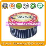 Contenitore dolce per il regalo, contenitore di stagno della caramella di latta della confetteria