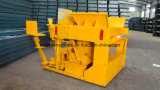 Qtm6-25大きい容量のパレット自由な移動式移動可能な空のブロックの固体煉瓦作成機械