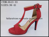 La plus nouvelle conception Lady Dressing Shoes Party High Heels (0513-13)