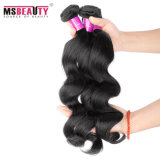Weave frouxo peruano Remy do cabelo humano da onda 100% da qualidade superior