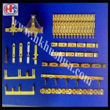 Подгонянная точность OEM штемпелюющ разъем частей электрический терминальный (HS-DZ-0055)