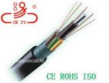 Base al aire libre del cable óptico GYTS 96 de fibra/cable del audio del conector de cable de la comunicación de cable de datos del cable del ordenador
