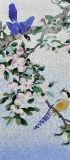 壁の背景のための手の切口映像