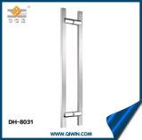 ドアの引きのハンドルのDiamter 25mmガラスのドアハンドル