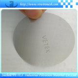 disco del filtro del acero inoxidable 304 316 con informe del SGS