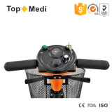 Vespa eléctrica de cuatro ruedas de gran alcance Handicapped desmontable fácil de Topmedi