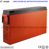 Batterij 12V 200ah van de Telecommunicatie van de Toegang van het Gel van het lood de Zure Voor Eind