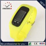 Geschenk-Uhr-Pedometer-Armbanduhr-Silikon-Armband-Uhr (DC-001)