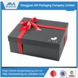 Matte Black Custom Paper Boxes Atacado Waterproof Shoe Storage Box