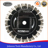 het 230mm Gesinterde Gesegmenteerde TurboBlad van de Zaag voor het Snijden van Zwart Graniet