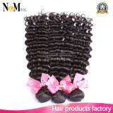 Cabelo natural Curly natural de Brown Remy do fornecedor de China